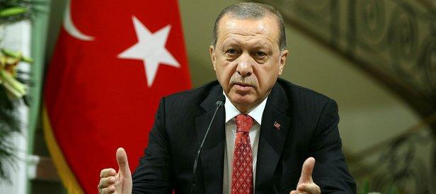 Erdoğan bölgeye gidiyor