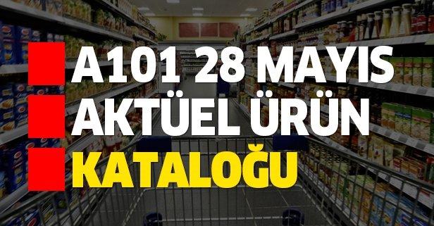 A101 28 Mayıs aktüel kataloğu indirimleri nelerdir?