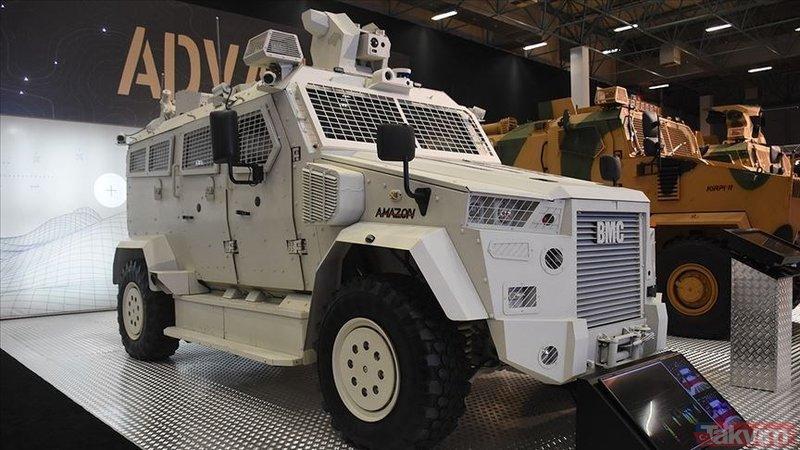 BMC'den askeri sürücüsüz araç (Türkiye'nin yeni nesil yerli silahları)