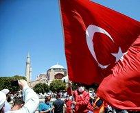 Türkiye'nin dört bir yanında Ayasofya Camii coşkusu