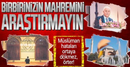 Prof. Dr. Nihat Hatipoğlu yazdı: Birbirinizin mahremini araştırmayın | 12 Mayıs 2021