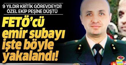 Son dakika: İşte Ege Ordu Komutanı Korgeneral Ali Sivri'nin emir subayı Fevzi Öztürk'ü yakalayan ekip!