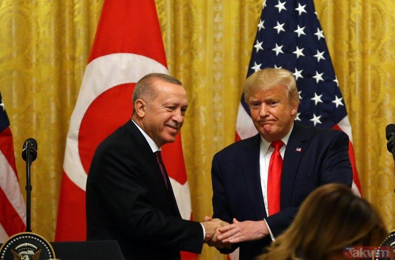 Trump'tan basın toplantısında provokasyon önlemi! Gazetecileri bu sözlerle uyardı