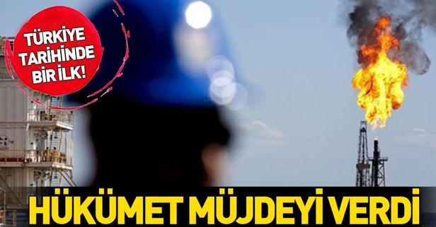 Hükümet müjdeyi verdi! Türkiye'de tarihinde bir ilk!
