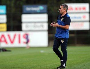 Ersun Yanal'dan son dakika değişikliği! İşte Fenerbahçe - Antalyaspor 11'leri...