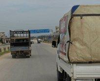 M4 karayolu Suriyelilerin dönüş yolu oldu