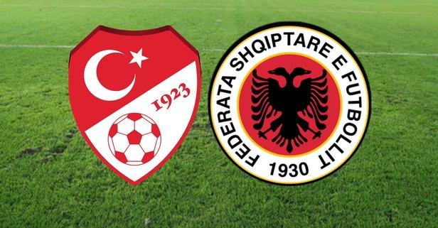 Türkiye Arnavutluk maçı nerede oynanacak?