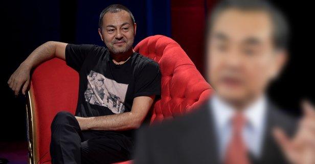 Çinli bakan Serdar Ortaç'a benzerliğiyle şaşırttı!