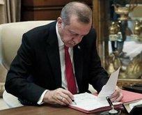 Başkan Erdoğan'ın kararları Resmi Gazete'de