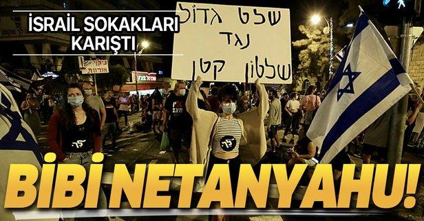 Netanyahu karşıtı gösteriler tüm hızıyla sürüyor