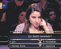 Soruyu bilemeyen yarışmacı konuştu