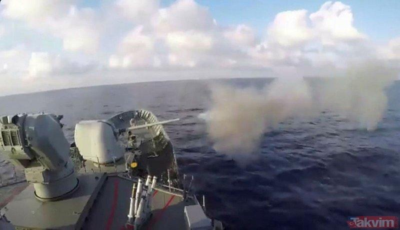 Türk donanmasından dosta güven düşmana gözdağı (İşte en güçlü donanmaya sahip ülkeler)