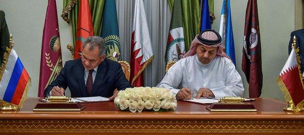 Rusya ve Katar'dan kritik imza