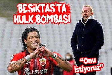 Beşiktaş'ta Hulk bombası! Sergen Yalçın açıkladı: İstediğimiz oyunculardan birisi