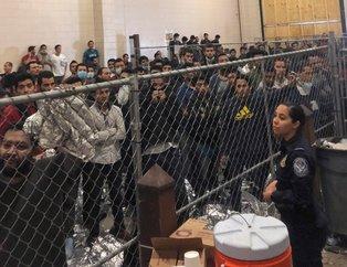 Dünya Mike Pence´in göçmen merkezi ziyaretinde kaydedilen görüntüleri konuşuyor!