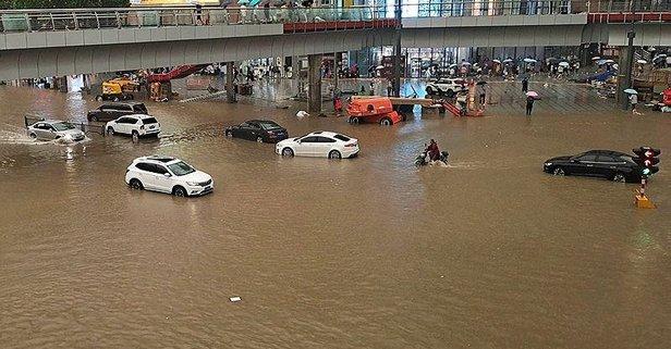 Çin'in Henan eyaletinde sel felaketi