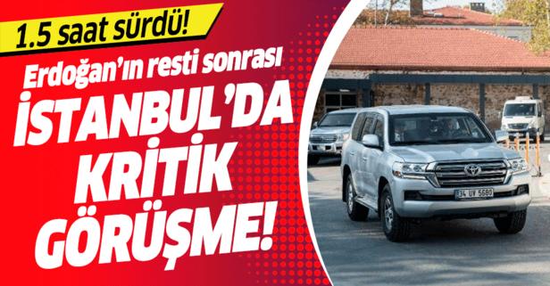 İstanbul'da kritik görüşme