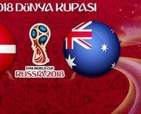 Danimarka - Avustralya maçı ne zaman saat kaçta ve hangi kanalda yayınlanacak?