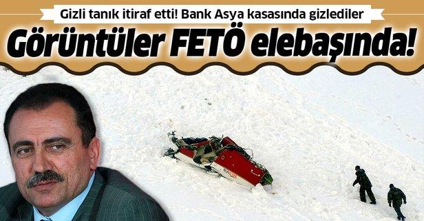 Bank Asya kasasında Muhsin Yazıcıoğlu görüntüleri