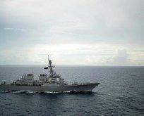 Çinden ABD savaş gemisine önleme