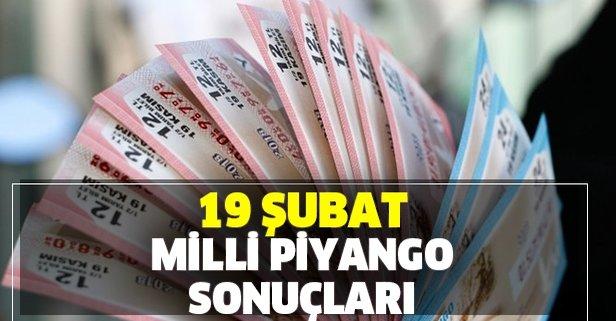 19 Şubat MPİ Milli Piyango sonuçları duyuruldu!