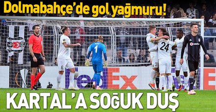 Kartal'a soğuk duş | Beşiktaş: 2 - Genk: 4 Maç sonucu