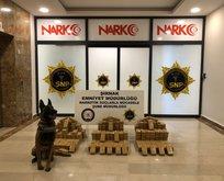 Terör örgütüne operasyon: Yüzlerce kilo eroin...