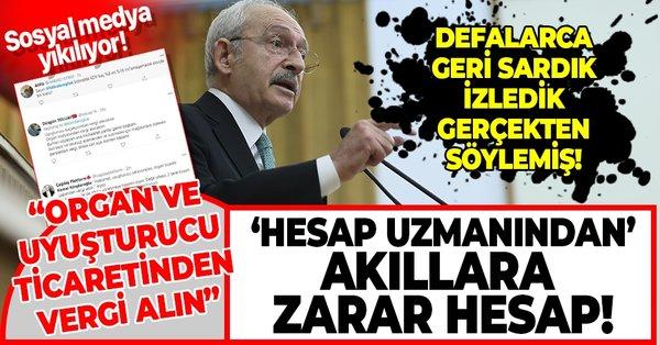Hesap uzmanı Kemal Kılıçdaroğlu'ndan pes dedirten açıklama: Organ ve uyuşturucu ticareti yapan adamdan vergi alacaksın - Takvim