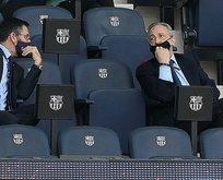 Barcelona'da şok istifalar!