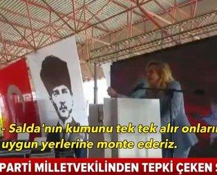 İyi Partili Aylin Cesur'un skandal sözlerine Meclis'te sert tepki: Özür dilemeli