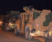 Suriye sınırına gece yarısı askeri sevkiyat!