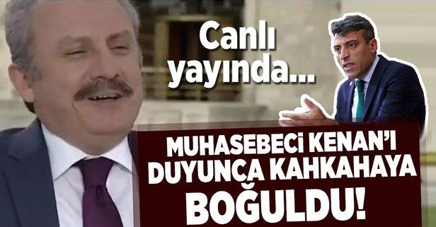 AK Partili Şentop Muhasebeci Kenan'ı canlı yayında öğrenince kahkaha attı
