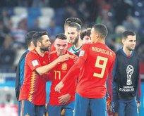 İspanya 90'da attı gruptan lider çıktı