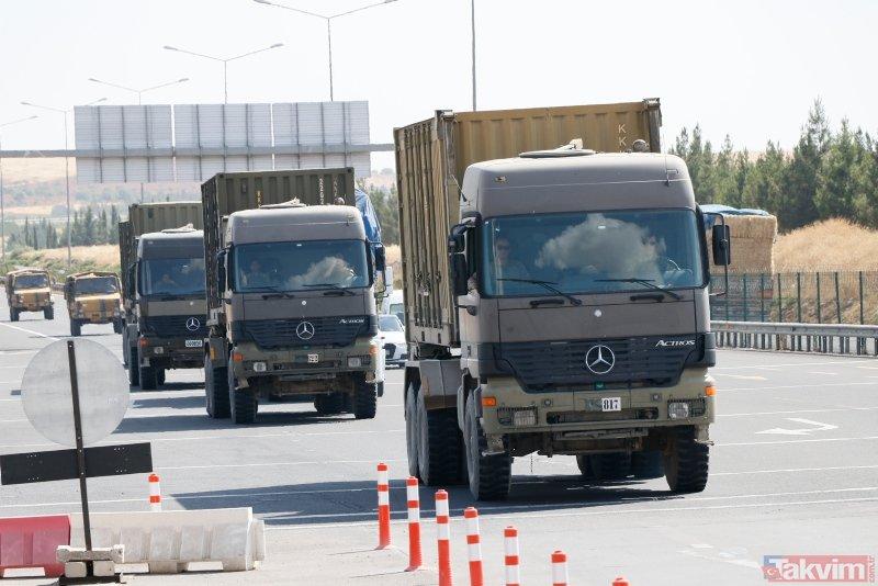Son dakika... S-400 teslimatının ardından Suriye sınırında dikkat çeken sevkiyat!