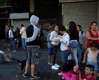 Venezuela'da şiddetli deprem!
