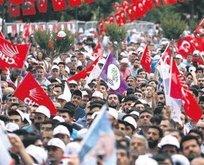 Terör örgütü PKK ile CHP aynı sloganı kullanmaya başladı