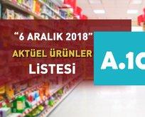 A101 6 Aralıkaktüel ürünler kataloğu