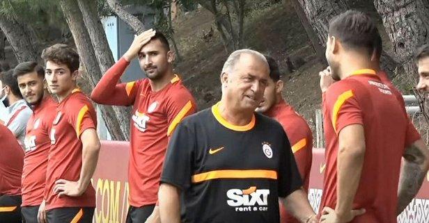 Galatasaray, günü çift idmanla geçirdi