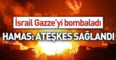 Son dakika: Hamas duyurdu: Gazze'de ateşkes sağlandı