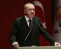 Başkan Erdoğan'dan ABD'nin sözde barış planına sert tepki!