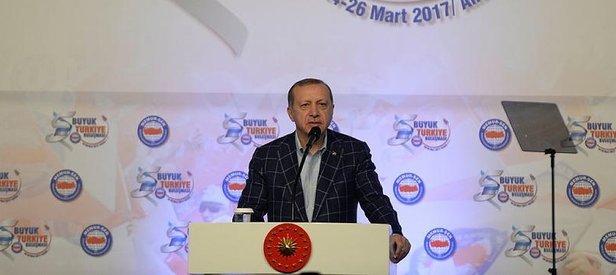 Erdoğan: Türkiye kimsenin şamaroğlanı değil