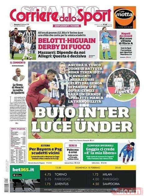 Roma'da yılın en iyi golü Cengiz Ünder'den