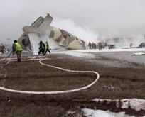 Kazakistan'da An-26 tipi uçak düştü!