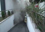 Kadıköy'de yangın paniği! Trafo bir anda alev aldı