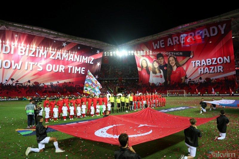 A Milli Takım'dan kötü başlangıç I Türkiye: 1 Rusya:2 (MAÇ SONUCU)