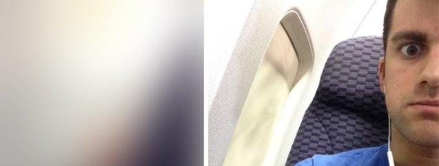Uçakta rezalet! Öndeki yolcu neye uğradığını şaşırdı