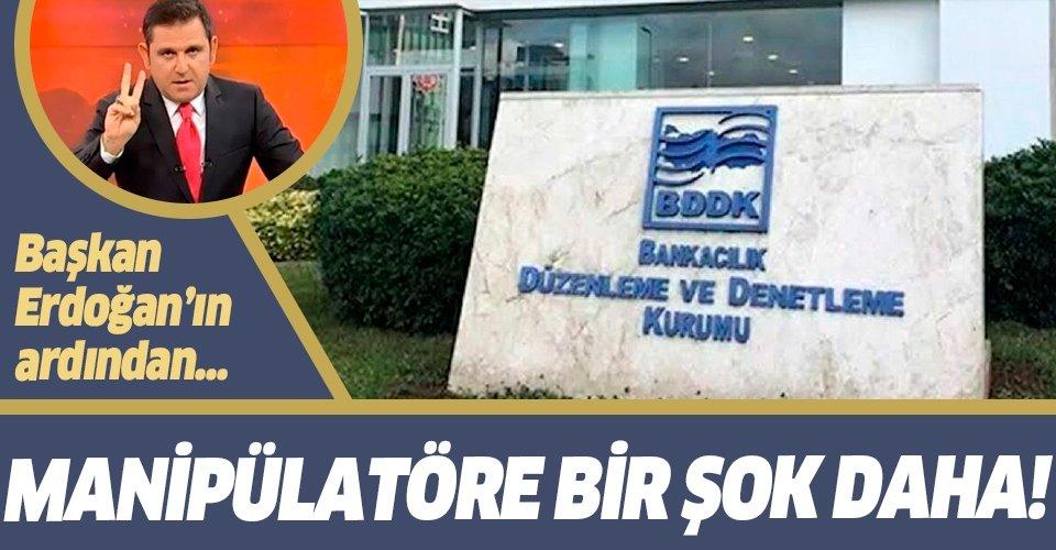 BDDK'dan Fatih Portakal hakkında suç duyurusu!