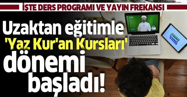 Uzaktan eğitim ile Kur'an-ı Kerim kursu!