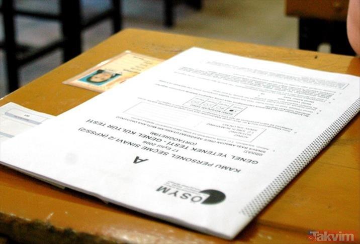 Kamu Personeli Seçme Sınavı geç başvuru günü ne zaman? 2019 ÖSYM KPSS sınav tarihi ne zaman?