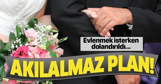 Evlilik vaadi ile dolandırdı!